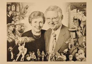 "Nancy D. and Ellsworth C. ""Buster"" Alvord."