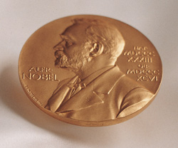 Nobel Prize medal
