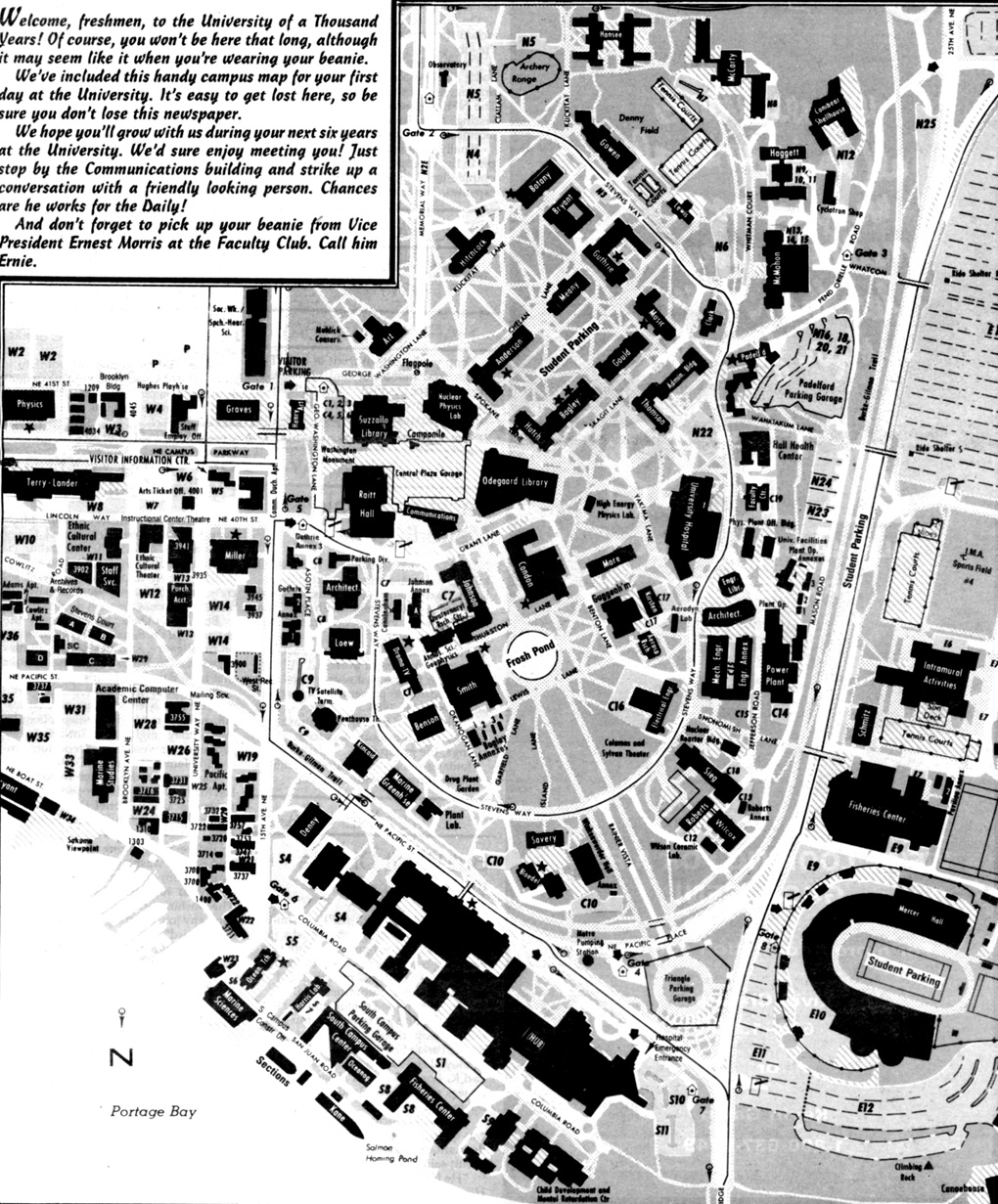 The Daily Uw Campus Map