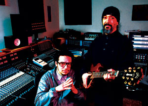 Alexei Saba Mohajerjasbi, 03, and Kim Thayil, 85