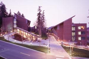 UW Tacoma campus.
