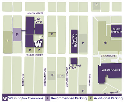 Alumni Commons map