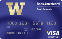 BankAmericard Cash Rewards™ Visa Signature®