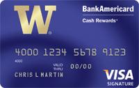 BankAmericard Cash Rewards™ Visa Signature®