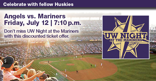 UW Night at the Mariners