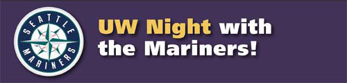 UW Night with the Mariners