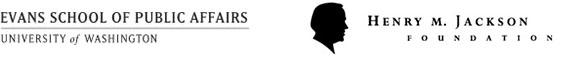 Image of Evans School and Jackson Foundation logos