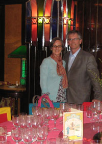 Seven Hills Winery owners Casey and Vicky McClellan
