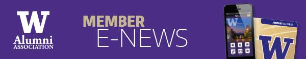 UWAA Member e-News masthead