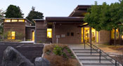 Seattle's Magnolia Branch Library, designed by SHKS Architects
