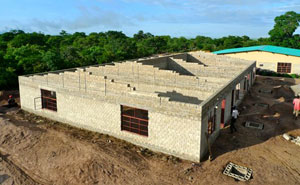CfC's second school in Zambia is well under construction