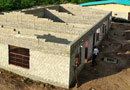 Construction is under way at CfC's second school in Zambia