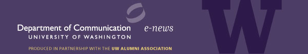 UW Department of Communication e-news