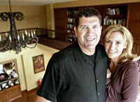 Former Major League All-Star Edgar Martinez and Holli Martinez
