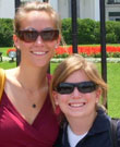 Anna Kramer, left, and Jamie Deaton Deutch