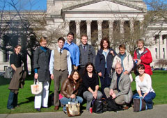 Policy students visit Olympia, Wash.