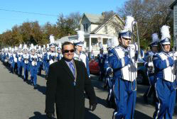 Alex Treviño & the ODU marching band