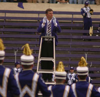 Eric Smedley at pregame performance
