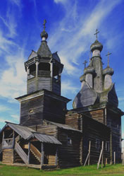 Church of the Odigitria Mother of God in Kimzha, Russia
