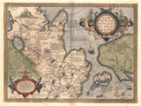 Tartariae Sive Magni Chami Regni, 1584, Libraries Special Collections, MAP129