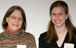 Glenda Pearson, left, and Ariel Deardorff