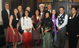 Participants in the South Asian Oral History Project.