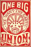 One Big Union poster