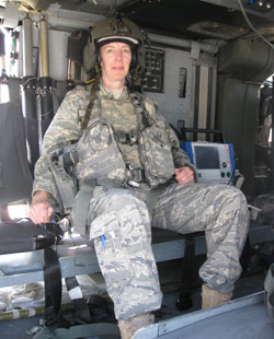 USAF nurse Liz Bridges