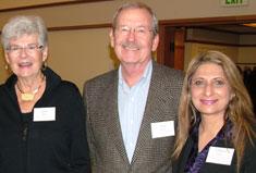Janet & Daril Hahn with Gulrose Jiwani
