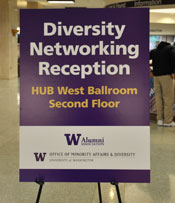 Diversity Networking Reception poster