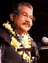 Palau President Johnson Toribiong
