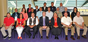2010 Tribal Leadership Summit participants