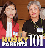 Image of Husky Parents 101 Logo
