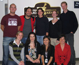 Members of the award-winning team