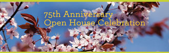75th anniversary open house