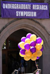 Symposium entrance, photo by David Ryder