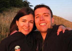 Gates Scholar alumni Jasmin Weaver & Noah Purcell
