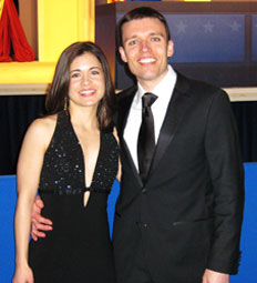 Weaver and Purcell at the '09 inaugural ball.