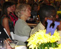 At the 2010 Coffee & Conversation Luncheon