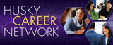 Husky Career Network logo