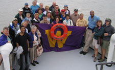 UW alumni aboard the Virginia V