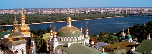 Ukraine on the Dnieper River