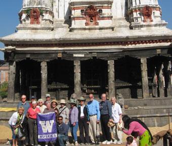 Mystical India travelers