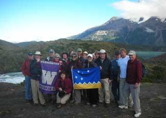 Patagonia travelers