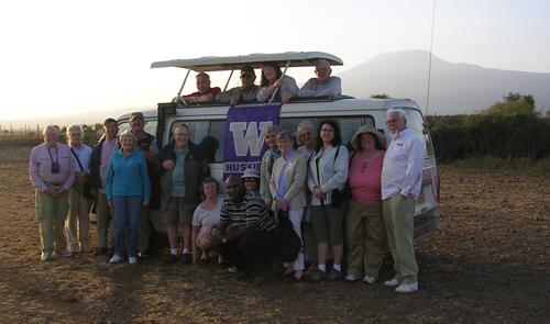 Kenya & Tanzania Travelrs 2012