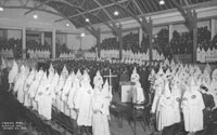 A Ku Klux Klan gathering in Seattle