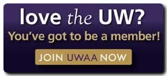 Love the UW? You've got to be a member! Join UWAA now.