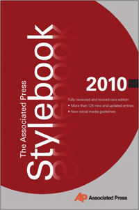 Image of the AP Stylebook cover