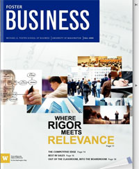 Image of Foster Business magazine
