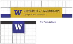 Example of patch and band design elements
